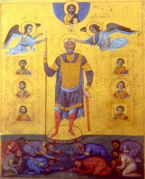 Po zajęciu Kijowa Chrobry był tak pewny siebie, że groził władcy Bizancjum - Bazylemu II.
