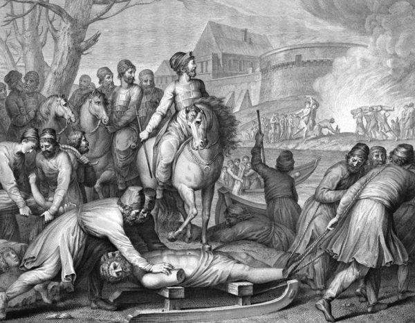 Piastowie nie mieli żadnej litości dla swoich wrogów. Palili ich grody, a z nich samych robili niewolników.