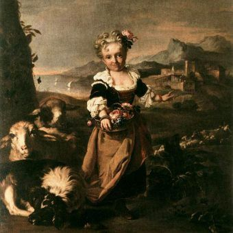 Niestety nie pozostały wizerunki Dosieczki. Tak wyglądała karliczka Angiola Biondi z orszaku innej władczyni, Wiolanty Beatrycze bawarskiej, na obrazie Niccolò Cassany z 1707 roku.