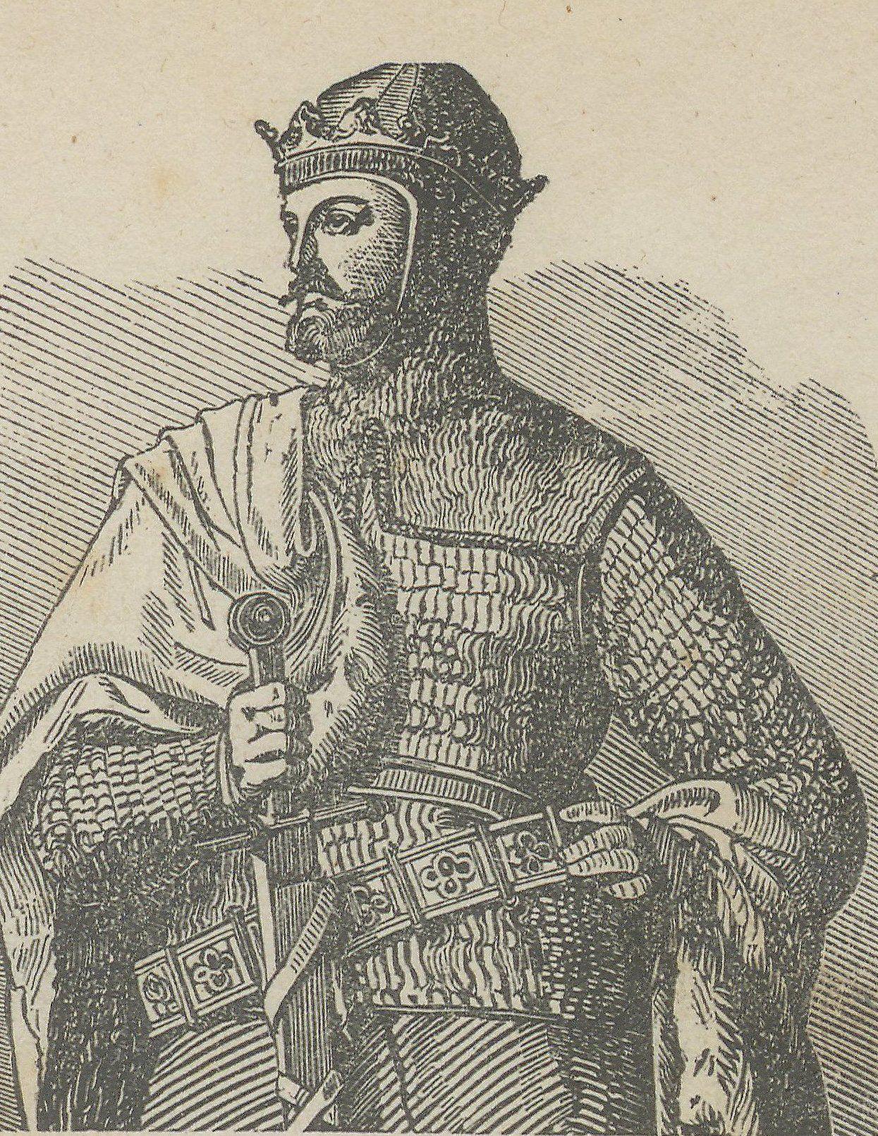 Bolesław Chrobry był bez wątpienia największym zdobywcą w historii Piastów. Na ilustracji XIX wieczny podobizna władcy.