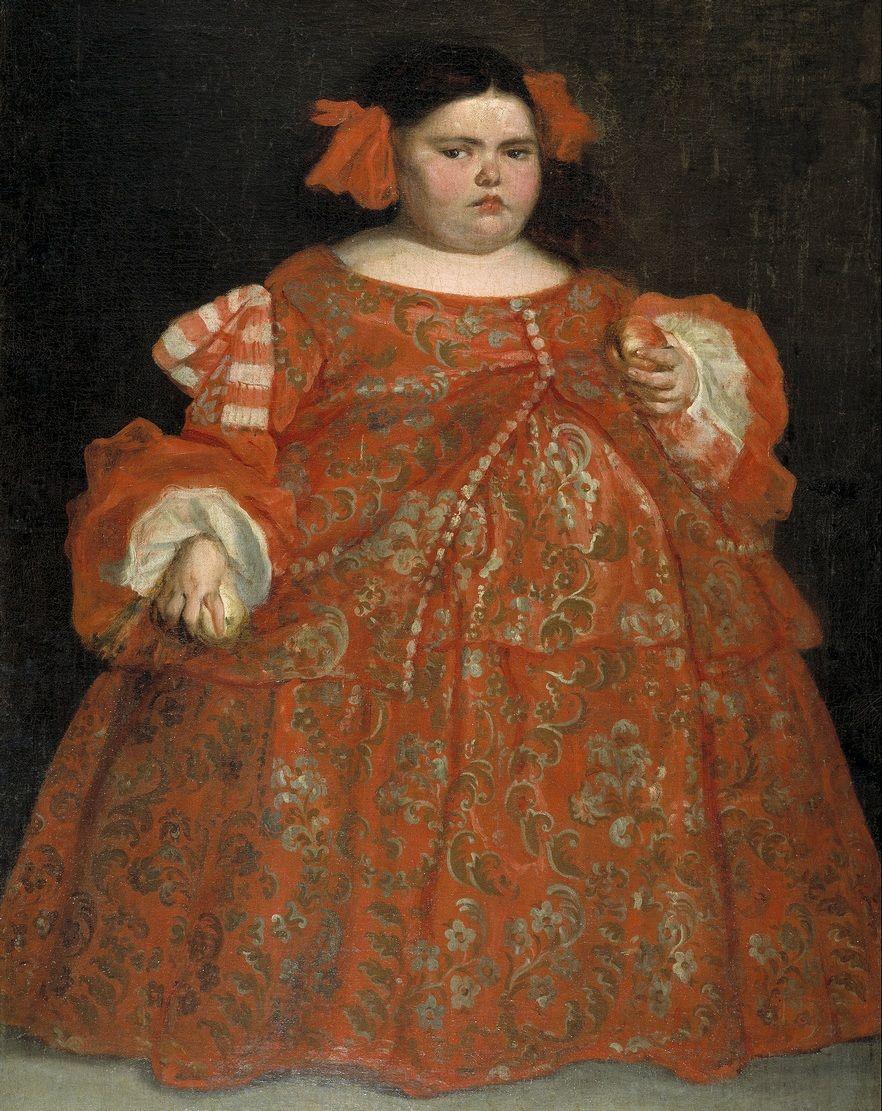 Dosieczka, choć maleńka, odegrała wielką rolę w historii uwięzienia Eryka XIV. Na obrazie Juana Carreña de Mirandy widzimy XVII-wieczną karliczkę.