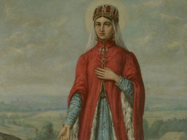Ta księżniczka do najlepiej pachnących nie należała. Święta Kinga na obrazie Ferdynanda Olesińskiego.