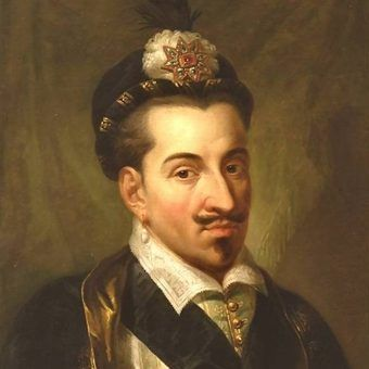 Henryk Walezy według Marcello Bacciarelliego.