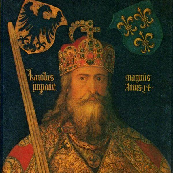 Karol Wielki według Albrechta Dürera.