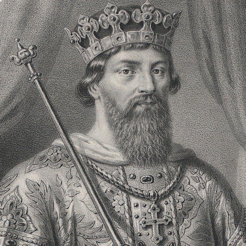 Kazimierz Odnowiciel, grafika Aleksandra Lessera.