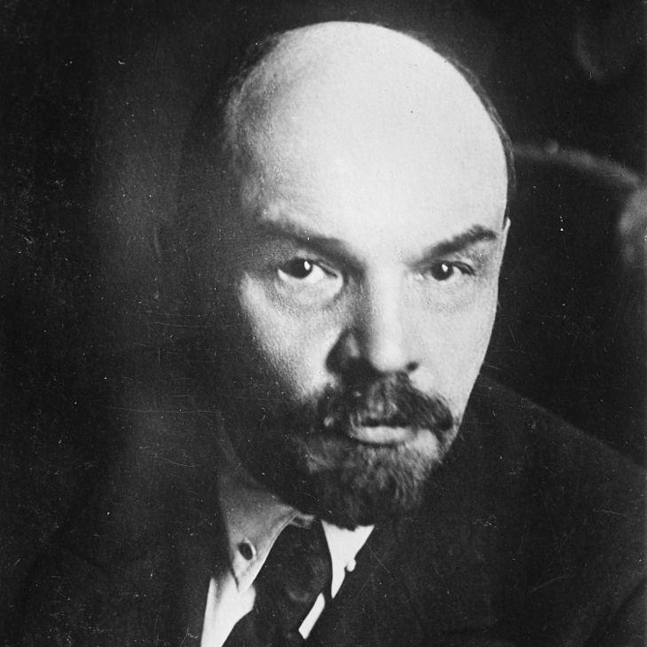 Włodzimierz Lenin na zdjęciu z marca 1919 roku.