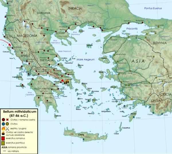 Terytorialne zdobycze Mitrydatesa wyglądają do dziś imponująco. Aby powiększyć swoje imperium nie wahał się on jednak mordować tysięcy ludzi z zimną krwią...