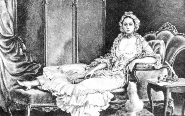 """Siostry Everleigh lubiły się portretować. Na każdym obrazie chciały wyglądać dostojnie. Nie uważały się bowiem za zwykłe """"burdelmamy"""", ale damy i matki prężnego biznesu. Na ilustracji Minna Everleigh ok. 1895 roku."""
