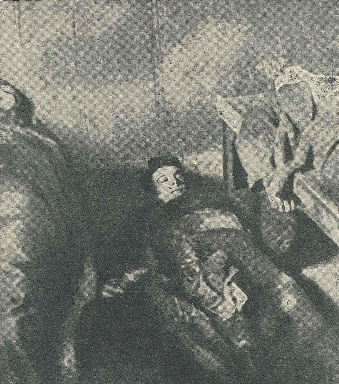 Ofiary masakry w Andenne.