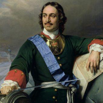 Piotr I na portrecie Paula Delaroche'a.