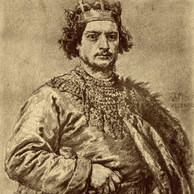 Bolesław Śmiały według Jana Matejki.
