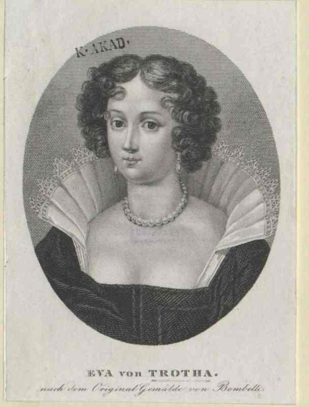 Kochanka Henryka, Ewa von Trott, stanowiła żywe upokorzenie Zofii. Podczas gdy księżna była bezdzietna, kochanka jej męża urodziła mu aż dziesięcioro dzieci. Na ilustracji portret von Trott pędzla Sebastiana Bombelli.