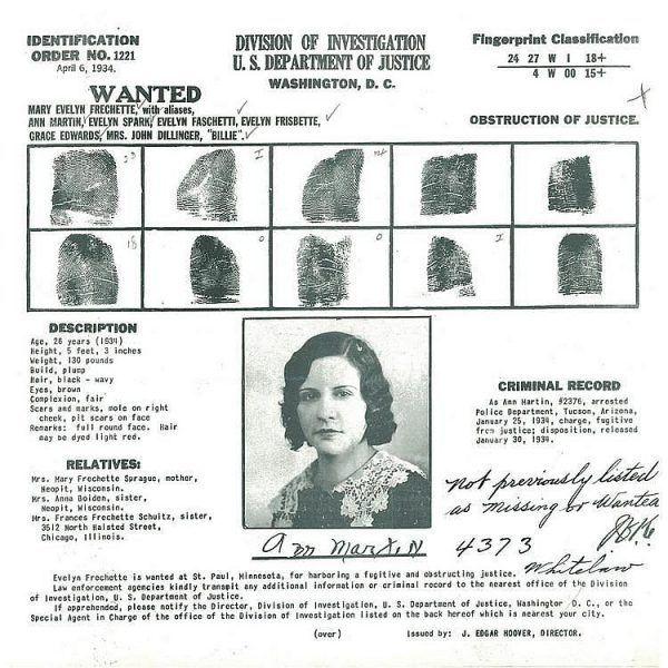 Przykład Evelyn Frechette pokazuje, że można być kobietą gangstera i czerpać z tego sławę. Gdy jej faceta zamknięto, ona jeździła po świecie jako autorka autobiograficznej sztuki, wciąż opowiadając historię swej miłości do bandyty.