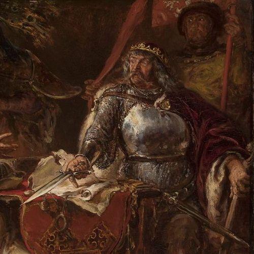 Władysław Łokietek na obrazie Jana Matejki.