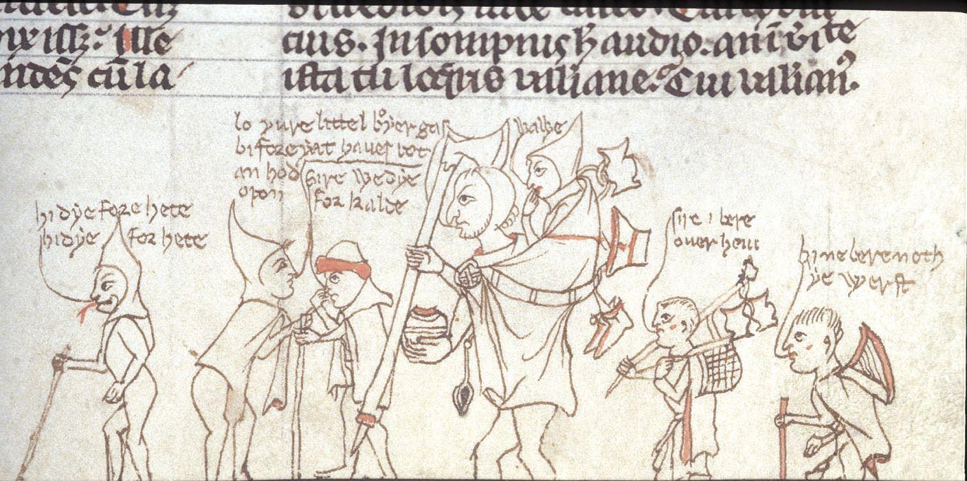 """Podróż z dziećmi potrafi być męcząca, zwłaszcza gdy pielgrzymkujesz pieszo. Jakub de Voragine, """"Złota legenda"""", Anglia, XIII/XIV w."""