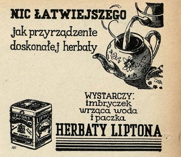 Pomiędzy krzewem herbacianym, a naszym imbrykiem, liście herbaty przebywają bardzo daleką droge. Przed wojną był to niestety szlak pełen bezczelnych oszustów.