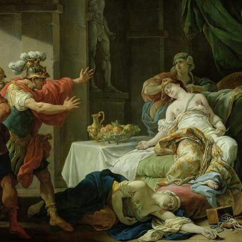 Śmierć od trucizny nie nieleżała w starożytnym świecie do rzadkości... Na ilustracji obraz Louisa Jeana Francoisa I Lagrenee z 1755 roku.