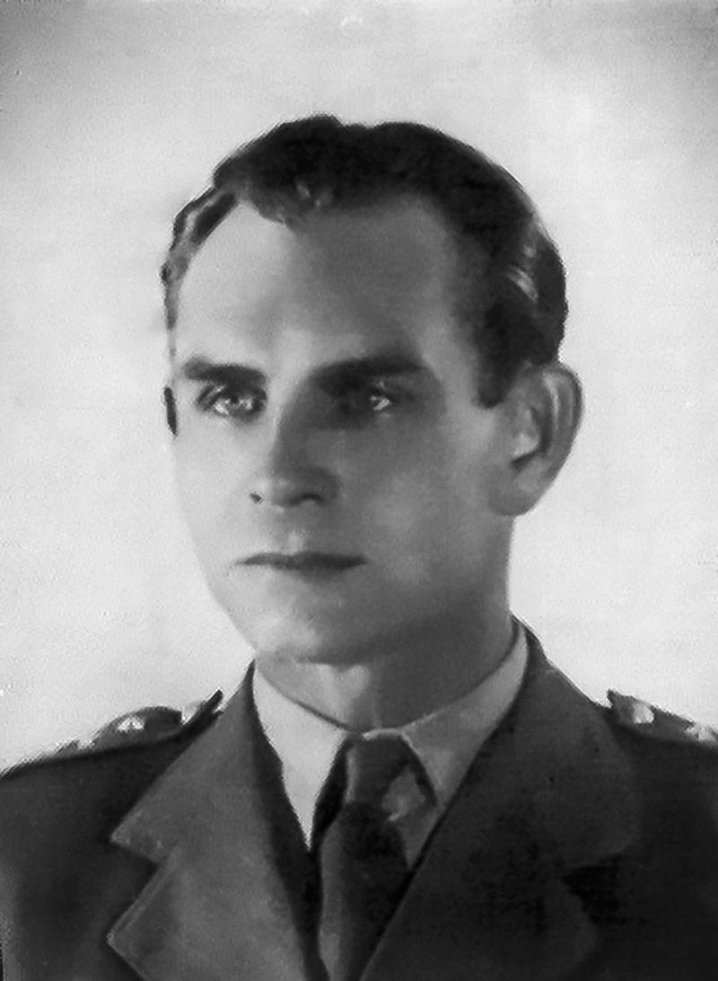 """Bernard Drzyzga ps. """"Bogusław-Jarosław""""."""