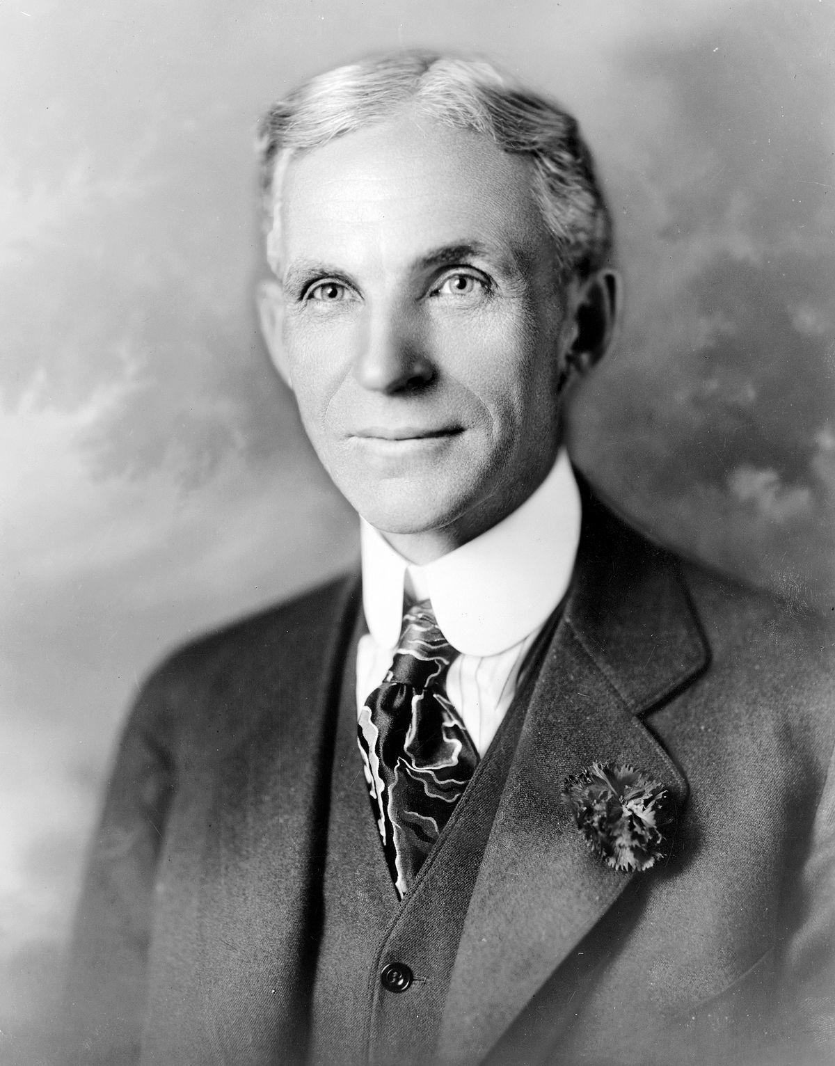 Henry Ford darzył Hitlera prawdziwym uwielbieniem.