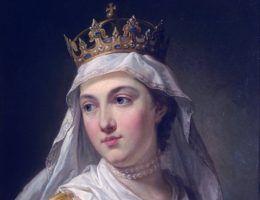 Królowa Jadwiga. Portret pędzla Marcello Bacciarelliego.