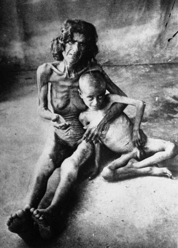 Kleska glodu w Kazachstanie spowodowana tymi samymi posunięciami Stalina, co na Ukrainie, i jej ofiary. (1933 r.)