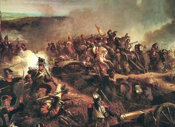 Atak Francuzów na redutę Rajewskiego na obrazie Louisa-Françoisa Lejeune'a.