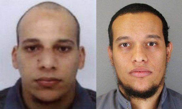 Bracia Chérif i Saïd Kouachi. Jak się okazało, zamachowcy mogli się porozumiewać między sobą dzięki pośrednictwu kobiet.