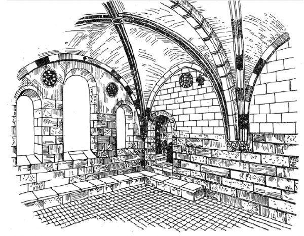 """Klasztorów przeznaczonych dla imperatorskich krewniaczek zbudowano w Niemczech ponad trzydzieści. Ilustracja z książki Kamila Janickiego """"Żelazne damy. Kobiety, które zbudowały Polskę""""."""