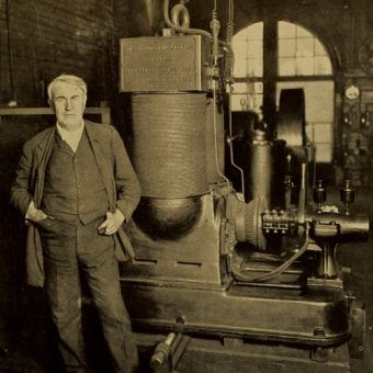 Thomas Alva Edison w 1911 roku. (fot. domena publiczna)