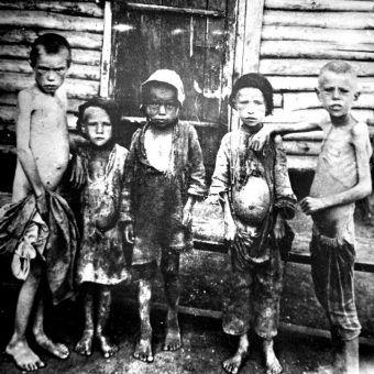 Wielki głód na Ukrainie 1932-1933 (fot. domena publiczna).