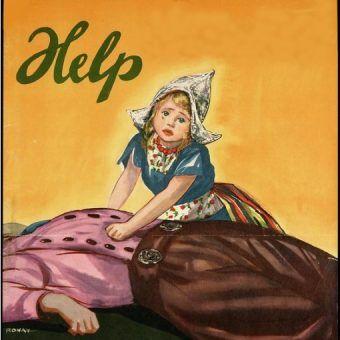 Plakat propagandowy w okresu II wojny światowej. (fot. domena publiczna)