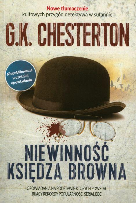 """Przedwojenny kryminał w doskonałej odsłonie. Polecamy """"Niewinność księdza Browna"""" G.K. Chestertona (Fronda 2017)."""