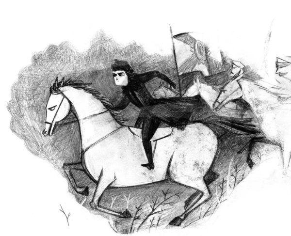 """Henryka Pustowojtówna. Ilustracja pochodzi z książki Anny Dziewit-Meller """"Damy, dziewuchy, dziewczyny. Historia w spódnicy"""" (Kraków 2017)."""