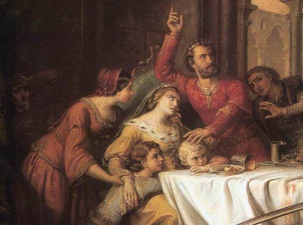Najpotężniejsza średniowieczna Polka na obrazie pędzla Somy Orlai-Petricha z drugiej połowy XIX wieku.