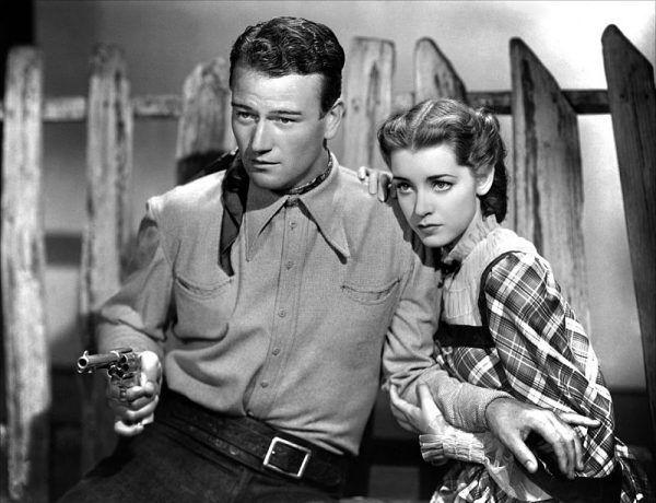 John Wayne w jednym z filmów z lat 30-tych XX wieku u boku Marshy Hunt. Czy Stalin był rzeczywiście na tyle szalony, aby wydać wyrok śmierci na jednego z najpopularniejszych hollywoodzkich aktorów?