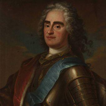 August II Mocny, Louis de Silvestre.