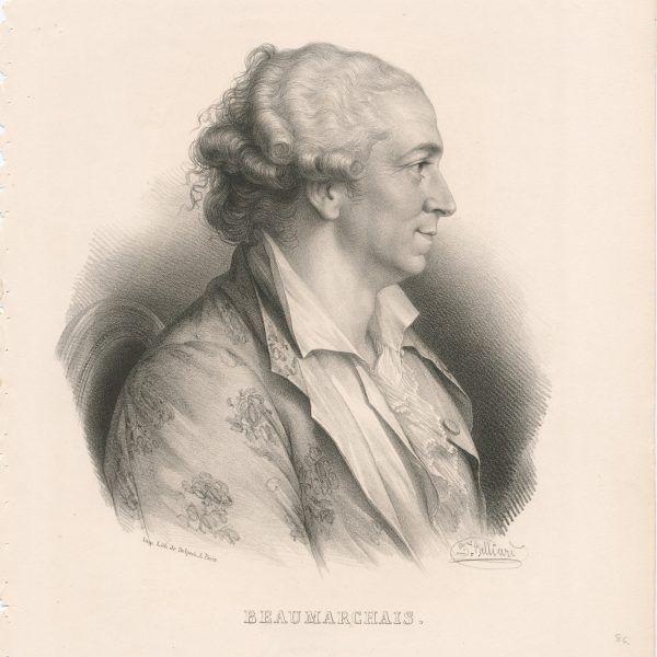 Pierre Augustin Caron de Beaumarchais to pisarz i szmugler, dzięki któremu Kościuszko trafił za Atlantyk.
