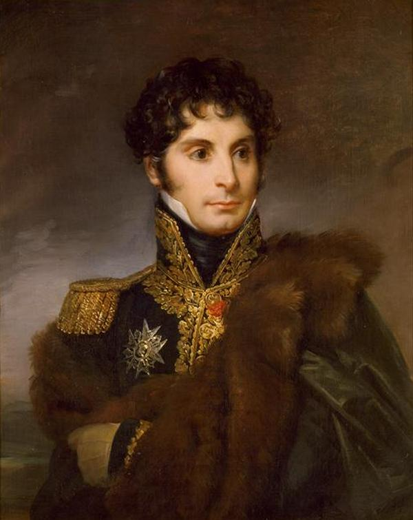 Adiutant Napoleona Filip Paul de Ségur był jednym z tych, którzy opisali akty kanibalizmu w szeregach Wielkiej Armii. Portret pędzla François Gérarda.