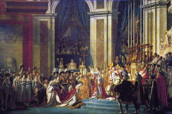 Koronacja Napoleona i Józefiny na obrazie Jacquesa Louisa Davida.