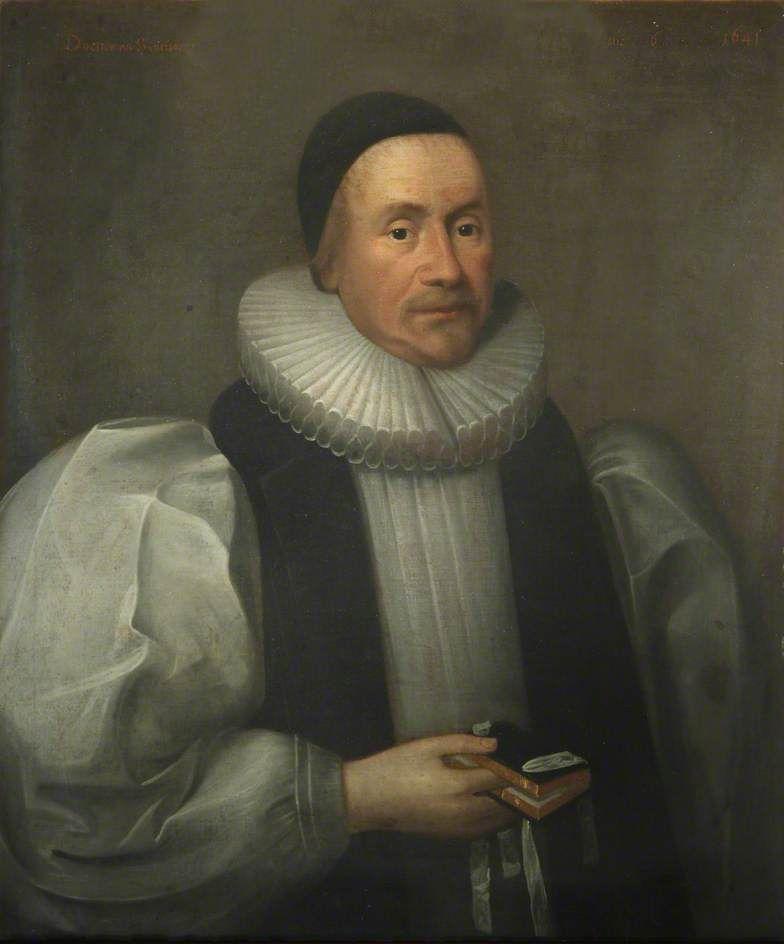 Portret Jamesa Usshera, którego wyliczenia były uczone w XVIII-wiecznych szkołach. Dzieło autorstwa Cornelisa Janssensa van Ceulena.