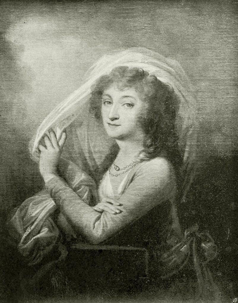 Uczennica i pierwsza wielka miłość Kościuszki, Ludwika Sosnowska, sportretowana w wieku około 40 lat przez Józefa Marię Grassiego.