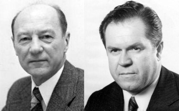 W dekadzie gierkowskiej miała miejsce nie jedna afera gospodarcza. Jednak tym razem zamieszane były w nie przede wszystkim władze państwowe. Na zdjęciu ówcześni ministrowie MSW: Mirosław Milewski (po lewej) oraz Franciszek Szlachcic (po prawej).