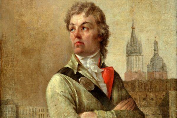 Nasz tajemniczy bohater na obrazie Jana Nepomucena Bizańskiego z 1862 roku.