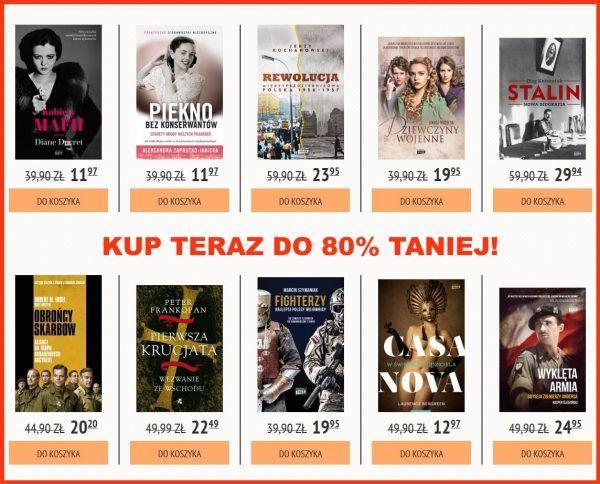Kup w naszej księgarni setki tytułów do 80% taniej!
