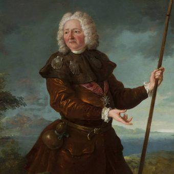 Stanisław Leszczyński w stroju pielgrzyma, Jean-Baptiste Oudry.