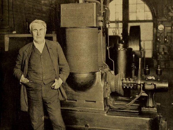 Wynalazca, o którym mowa, w 1911 roku.