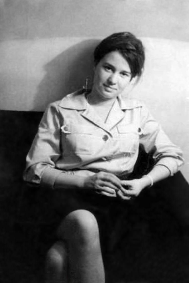 Czy współczesne dżihadystki idą w ślady członkiń RAF? Na zdjęciu Ulrike Meinhof jako młoda dziennikarka w 1976 roku.