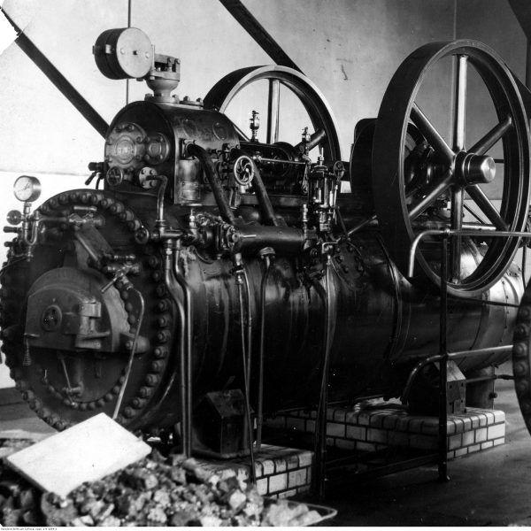 Urządzenia zamontowane w Miejskich Zakładach Elektrycznych w Gdyni. Rok 1932