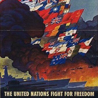 Plakat propagandowy z okresu II wojny światowej (fot. domena publiczna).