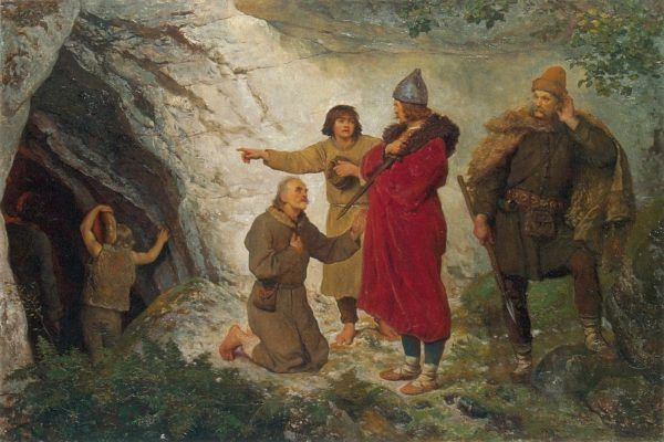 Według legend Łokietek krył się przed Czechami w grocie pod Ojcowem. Nieważne zresztą gdzie. Ważne, że zupełnie zapomniał o swojej rodzinie.